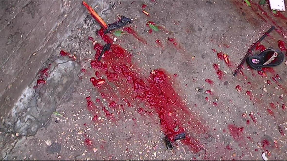 State of Palestine: Bodies of Gazan children slain in playground attack *EXTREMELY GRAPHIC*
