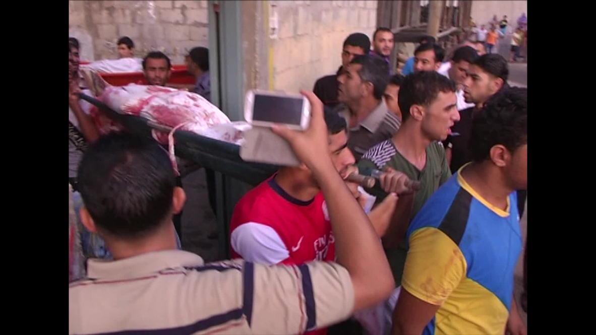 State of Palestine: Gazans count bodies as Israel strikes UN school *GRAPHIC*