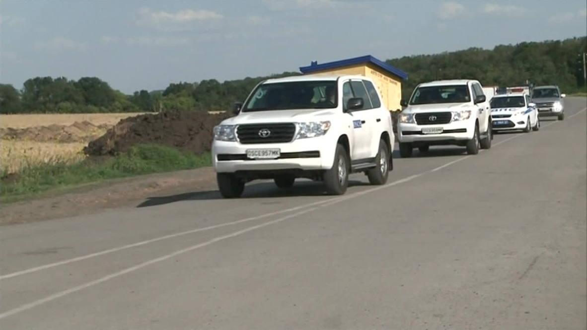 Russia: OSCE monitoring mission on Russia-Ukraine border begins