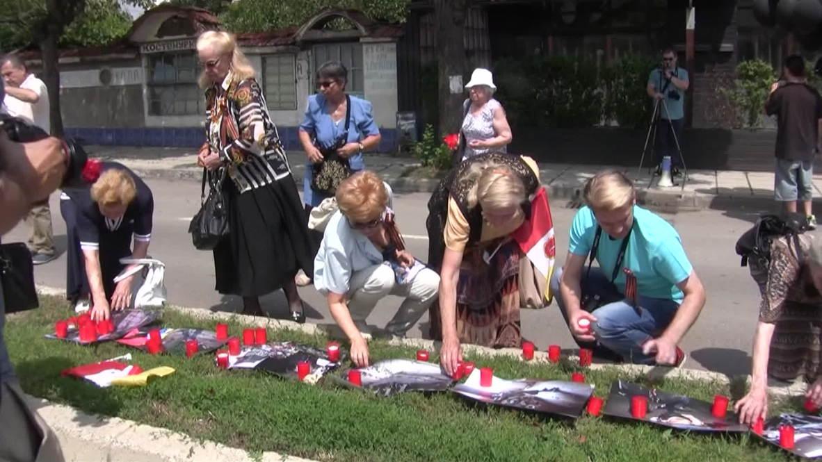 Bulgaria: Sofia mourns three-month anniversary of Odessa massacre
