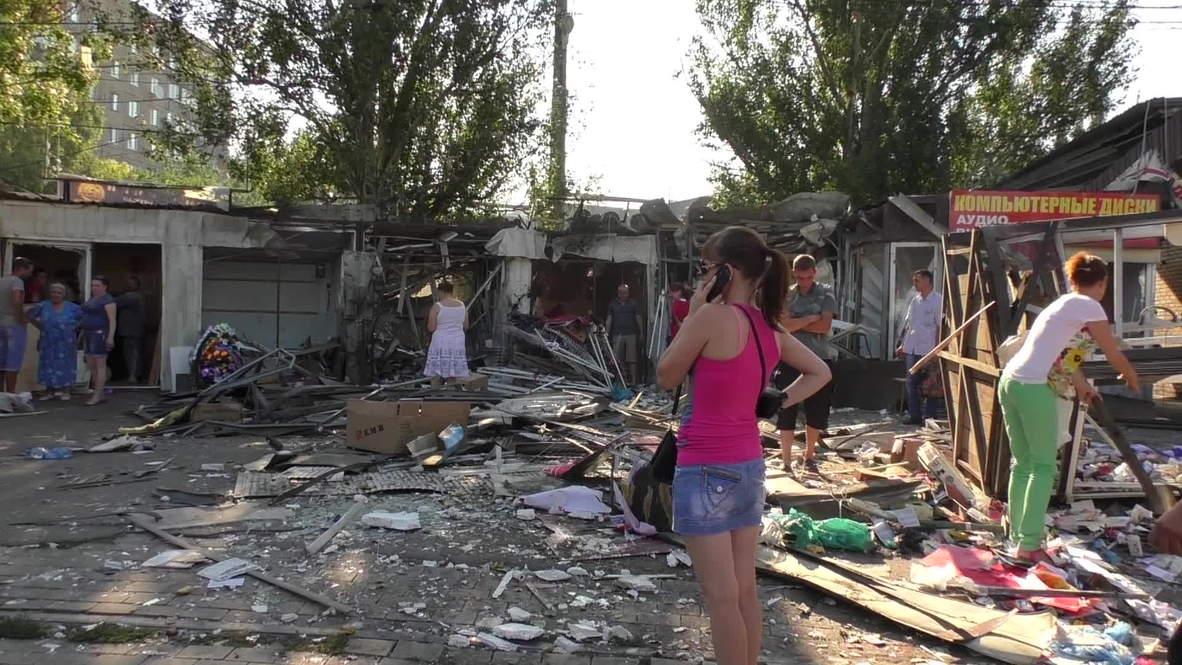 Ukraine: Three dead in Donetsk after overnight bombing