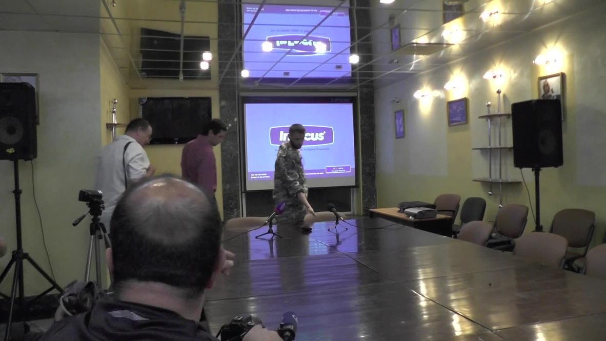 Ukraine: Humanitarian volunteer held captive in Donetsk speaks out