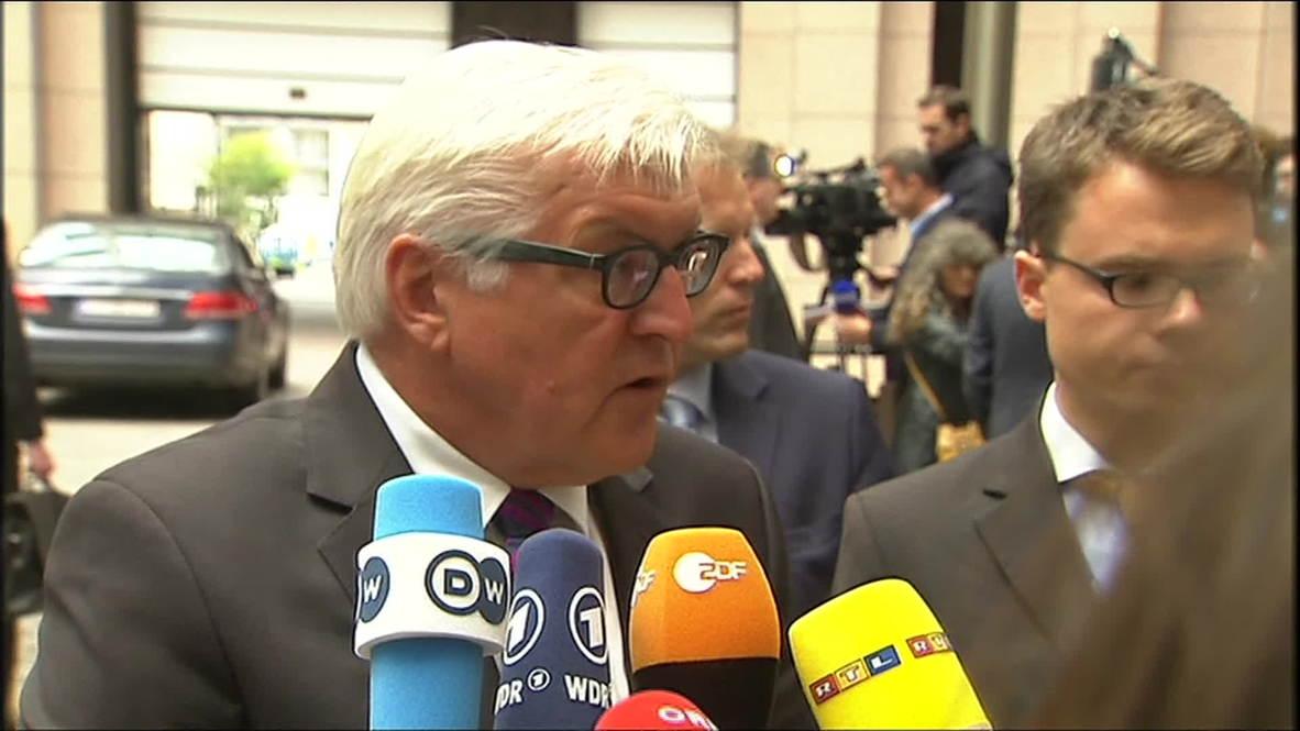 Belgium: Steinmeier announces Iraq visit - POOL