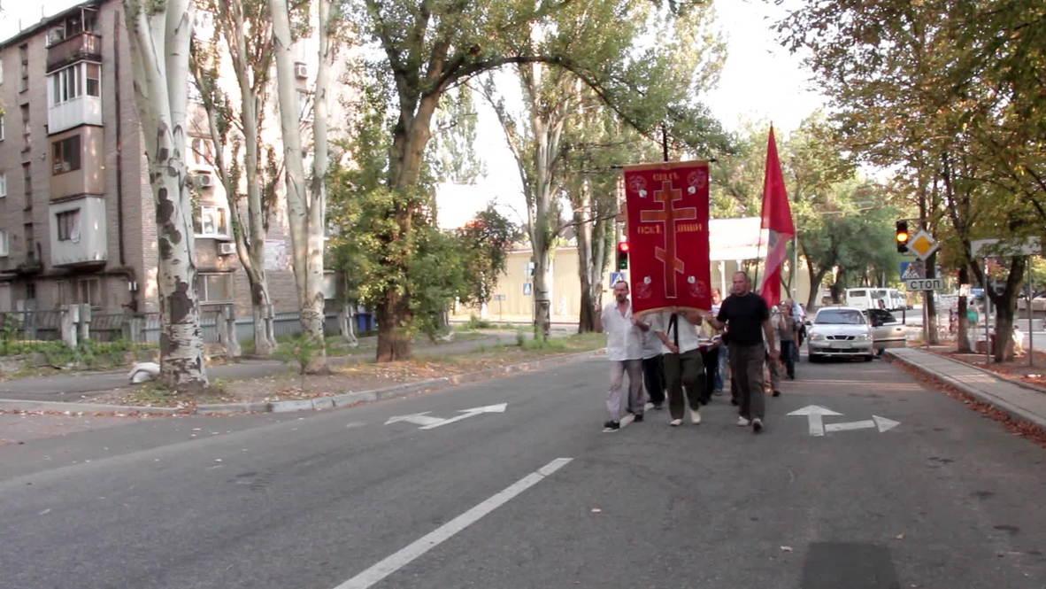 Ukraine: Religious parade held for peace in Donetsk
