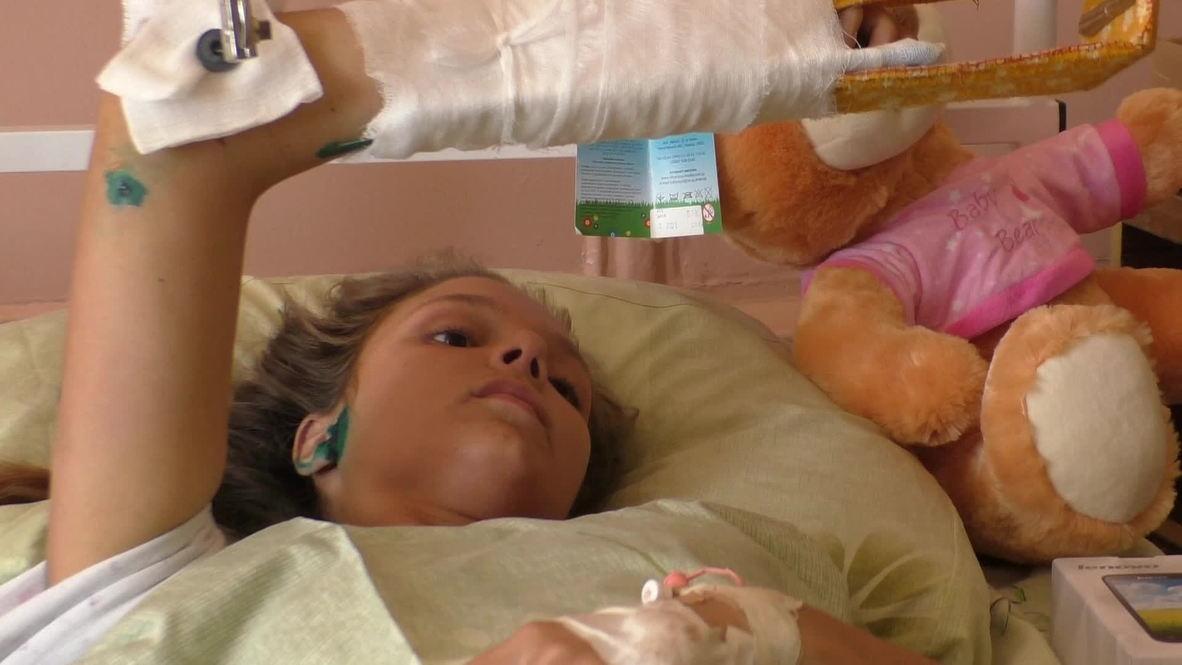 Ukraine: Shelling attack leaves teen girl suffering shrapnel wounds