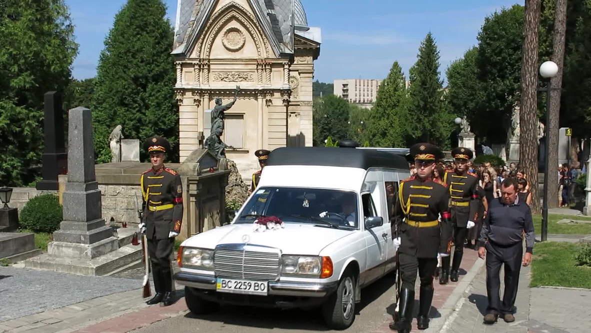 Ukraine: Lviv mourns Ukrainian soldiers killed in Lugansk region