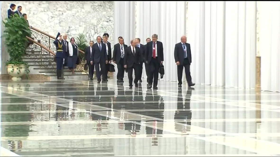 "Belarus: Putin, Poroshenko ""agree on need to end the bloodshed"""