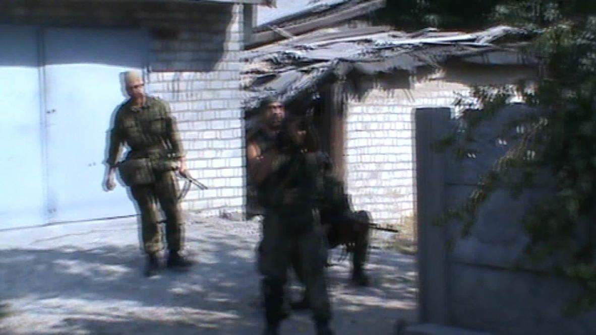 Ukraine: All guns blazing, anti-Kiev forces take over govt-controlled town