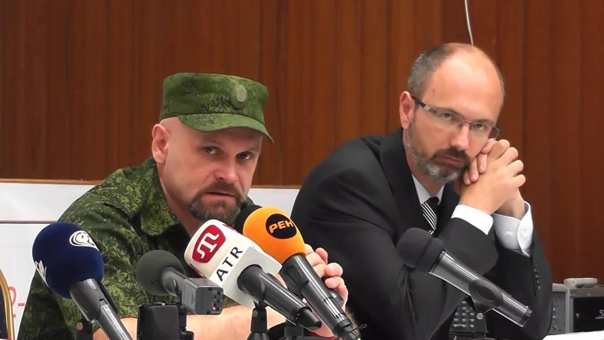 "Russia: ""We will not negotiate"" Lugansk militia leader says"
