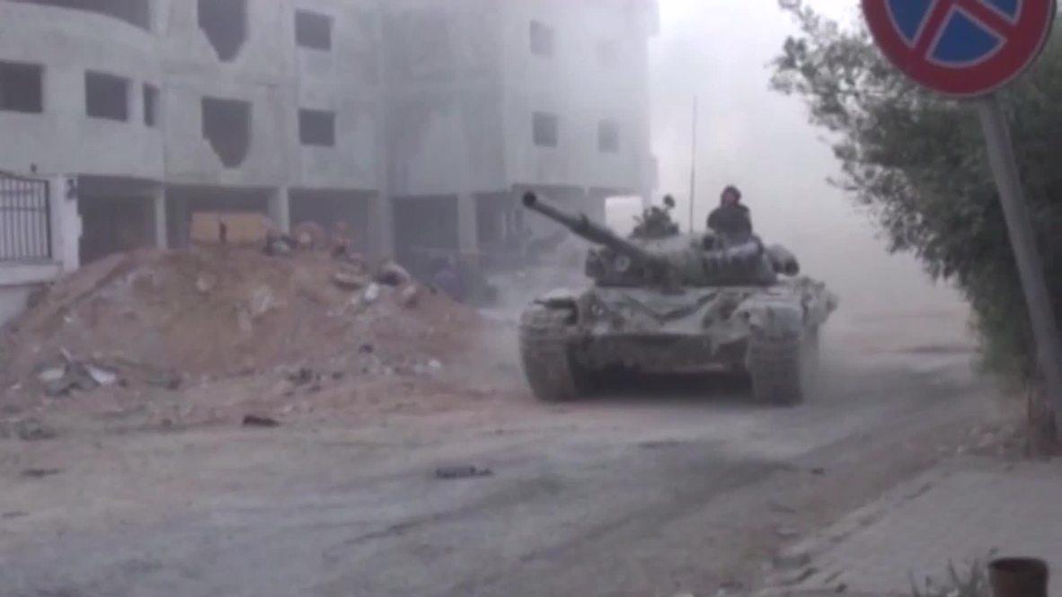 Syria: Army escalates efforts to recapture Jobar POOL