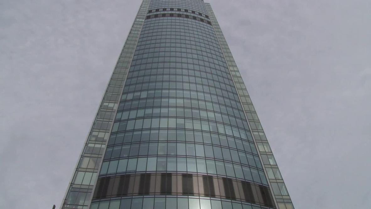 Russia: Man runs up skyscraper at record-shattering speed