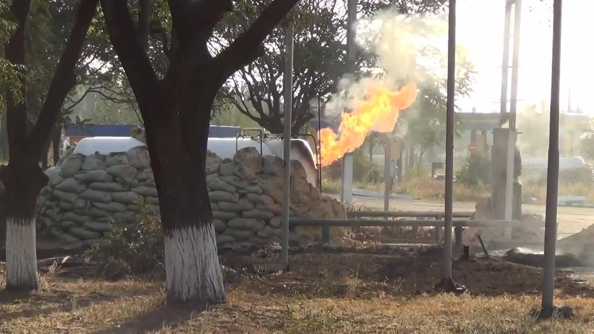 Ukraine: Ceasefire-defying shells hit Mariupol's east