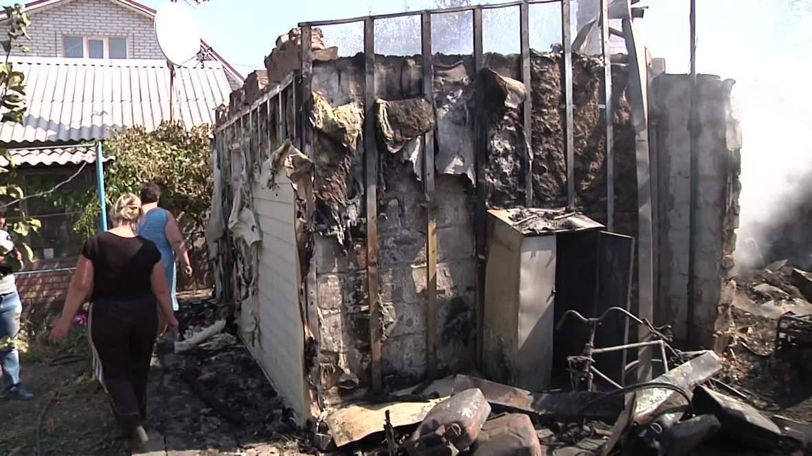 Ukraine: Shelling pounds Donetsk village despite ceasefire