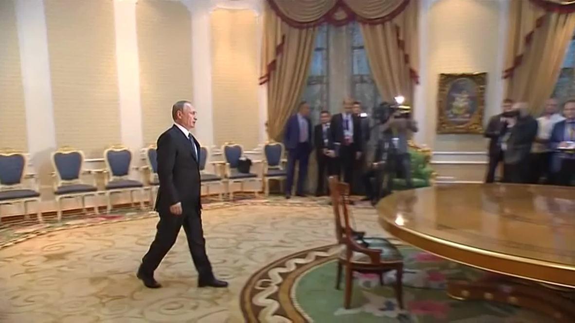 "Tajikistan: ""Ukraine, EU sanctions tools of U.S. foreign policy,"" blasts Putin"