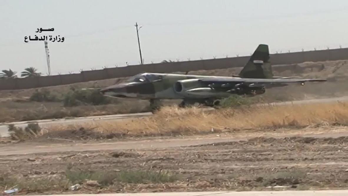 Iraq: Iraqi Air Force show off their arsenal in Baghdad