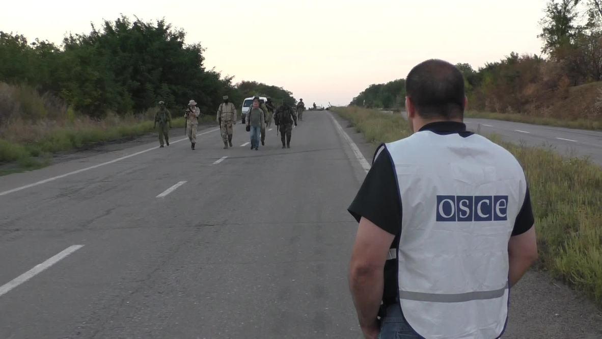 Ukraine: OSCE maintains vigilance over prisoner exchange