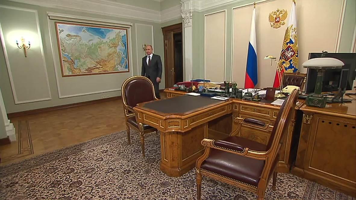 Russia: Prosecutor General Chaika briefs Putin on joint action plan