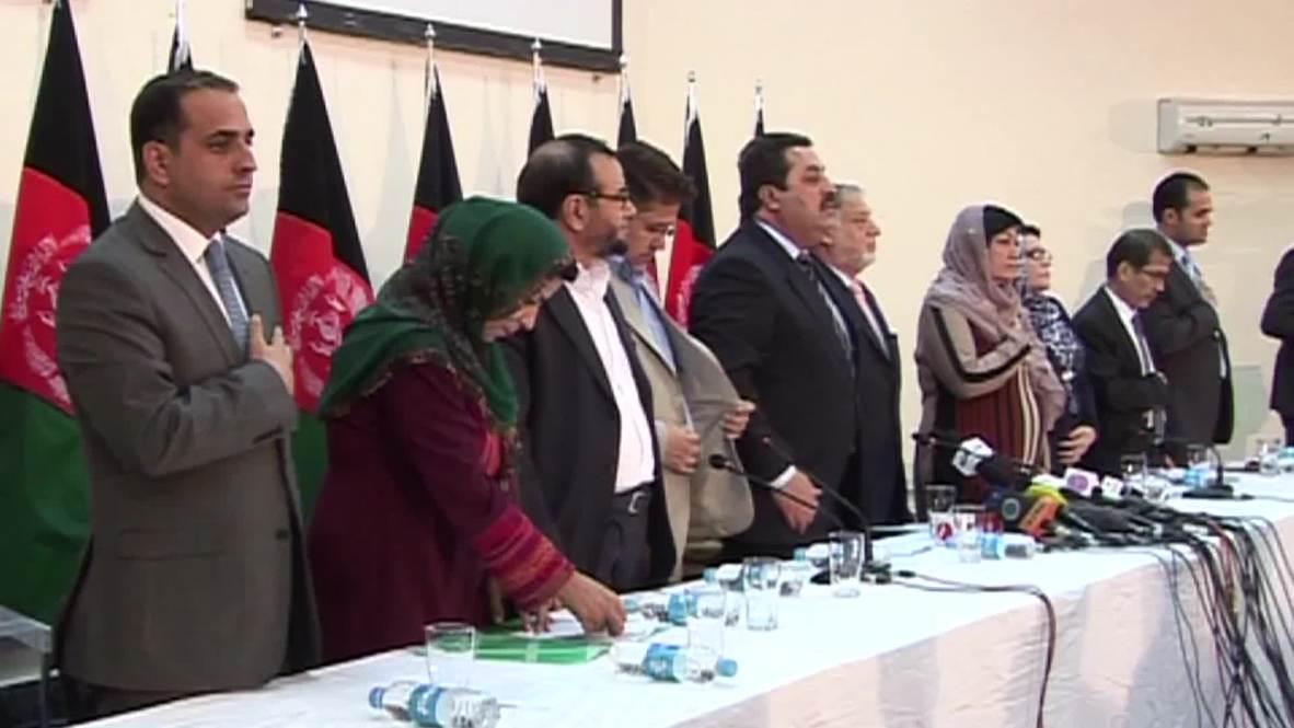 Afghanistan: Ashraf Ghani declared new Afghan president