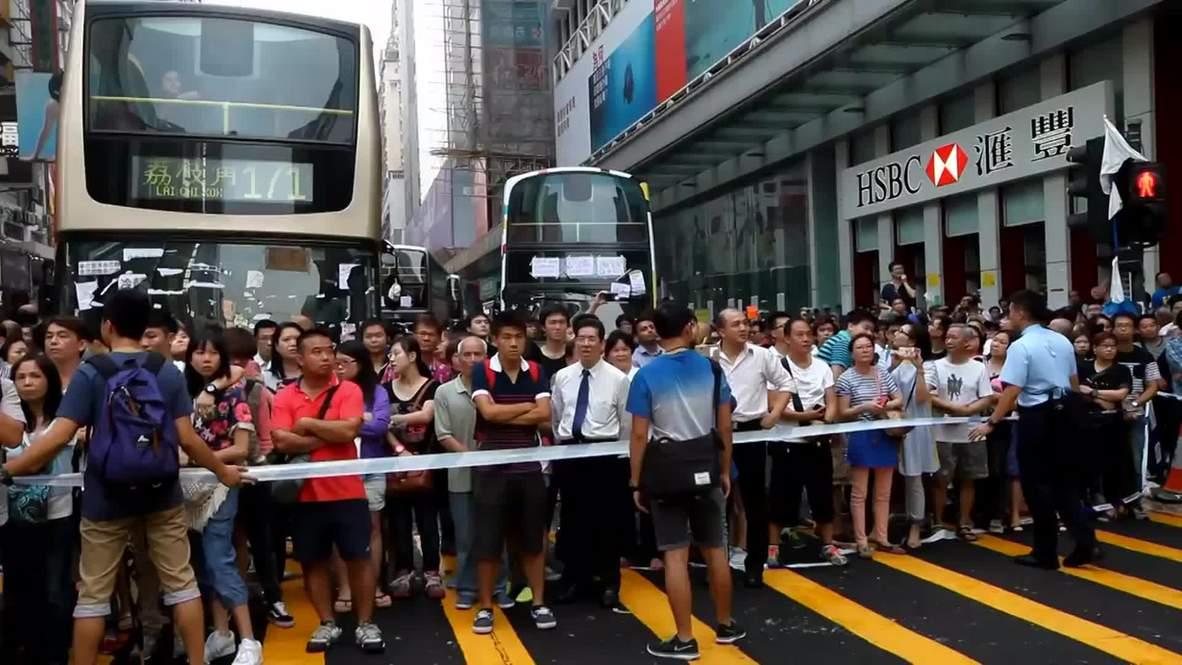 Hong Kong: Say goodbye to the 'pro-democracy' buses