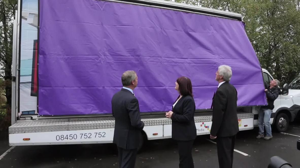 "UK: ""Miliband gone by Christmas,"" says tanked-up Farage"