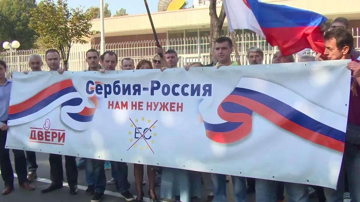 Serbia: 'We don't belong to EU story and welcome Putin' - Glisic