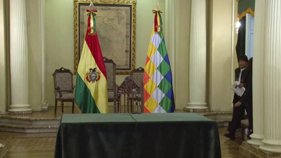 Bolivia: Morales urges REVOLUTION after landslide victory