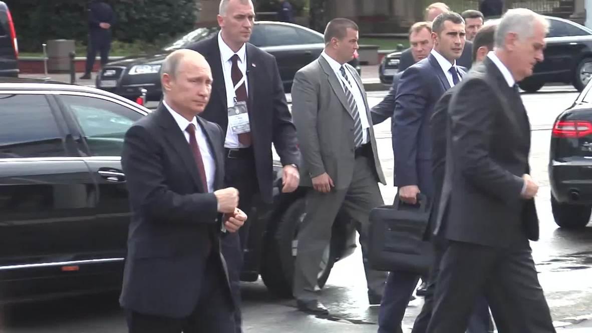 Serbia: Putin commemorates the liberation of Yugoslavia