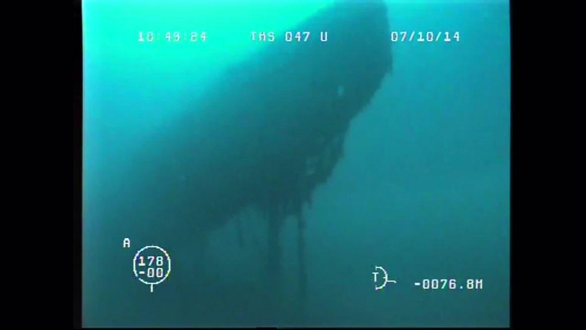 Russia: See the WW1-era submarine discovered in Sevastopol