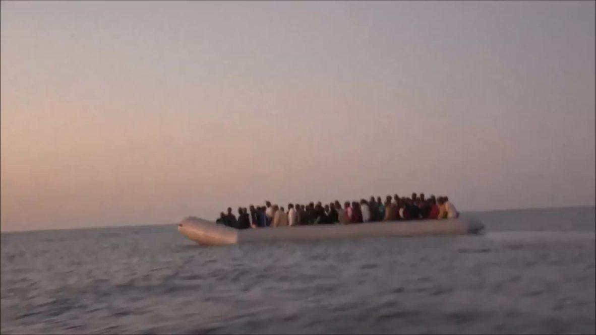 Malta: MOAS escorts 97 African immigrants to Coast Guard