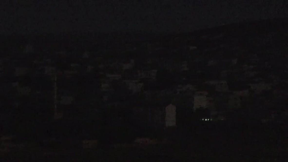 Turkey: IS assault on Kobane lights up the night
