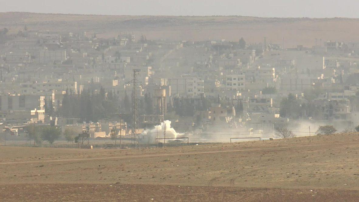 Turkey: Kobani rocked by fresh explosion, fighting continues