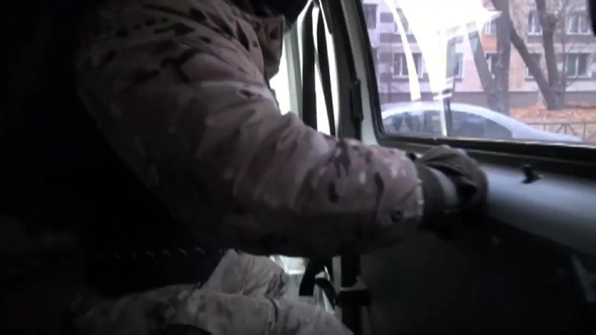 Russia: BUSTED! Watch as police break in to Dedovsk drug den