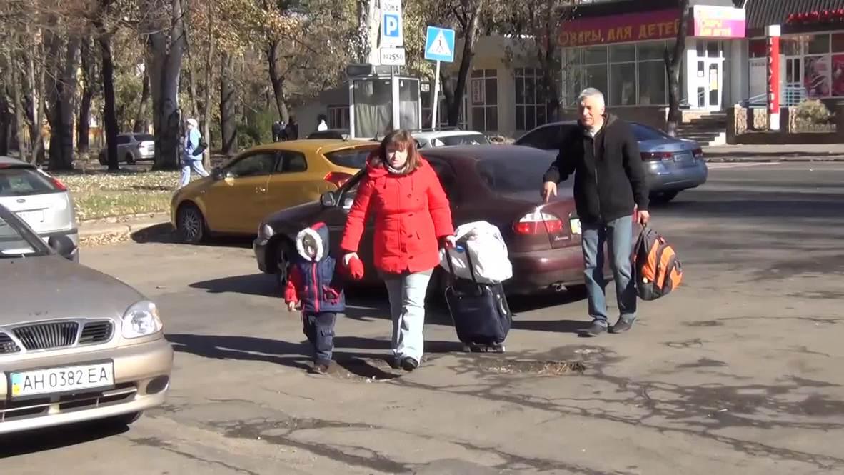 """Ukraine: Russian doctor rescues nine """"severely ill"""" Donetsk children"""