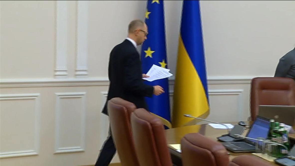 Ukraine: Yatsenyuk announces Russia gas payment plan