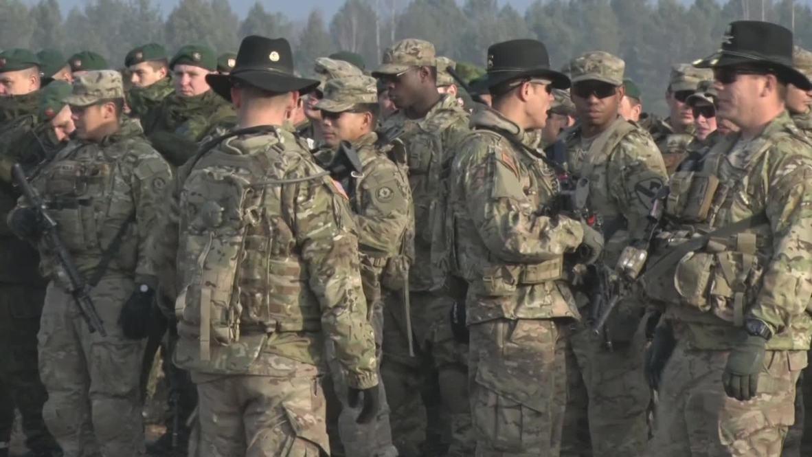 Lithuania: Iron Sword NATO drills get underway