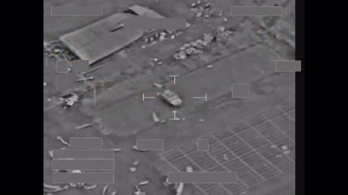 Iraq: Watch RAF Brimstone missile DESTROY ISIS armoured vehicle