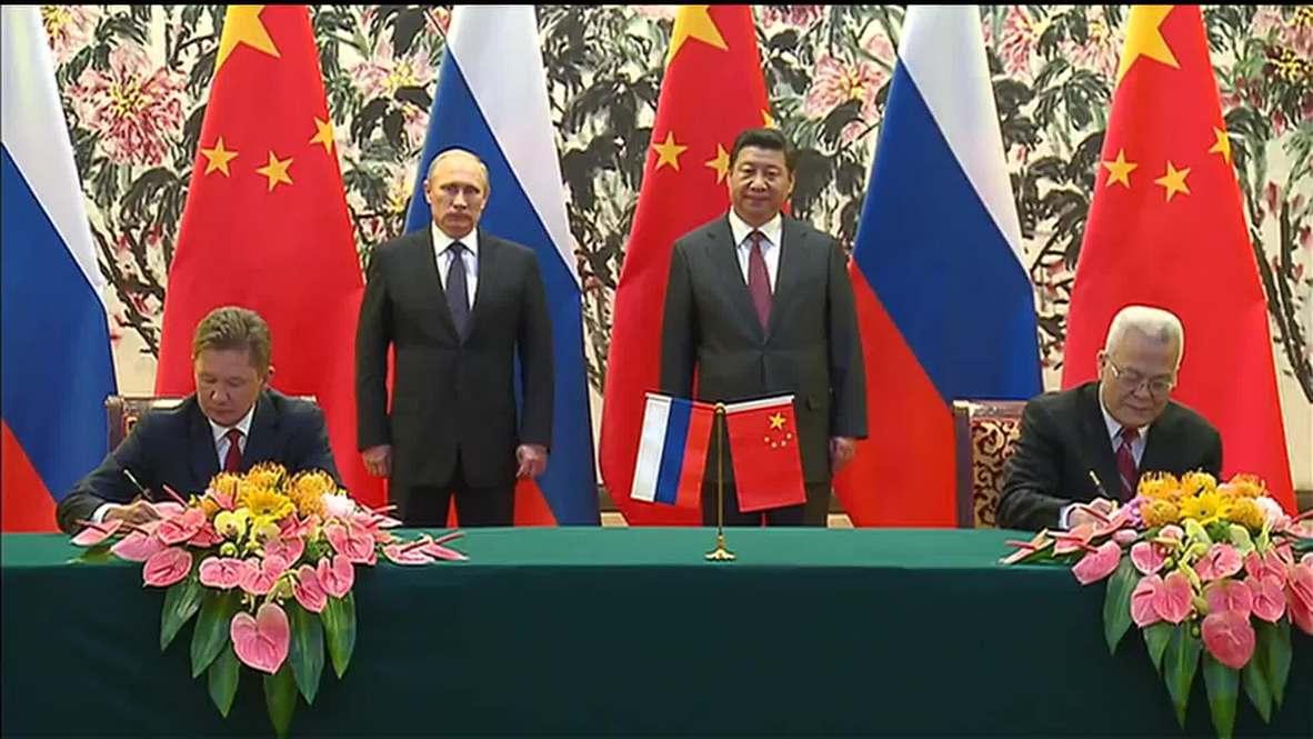 China: Putin, Xi Jinping sign massive gas deal in Beijing