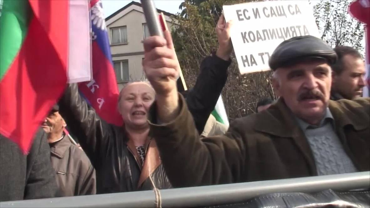 Bulgaria: Ataka rail against NATO and US 'colonialism'