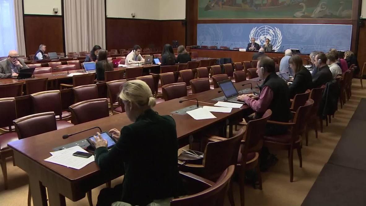 "Switzerland: ""No respect of international human rights norms in Ukraine"" - UN"