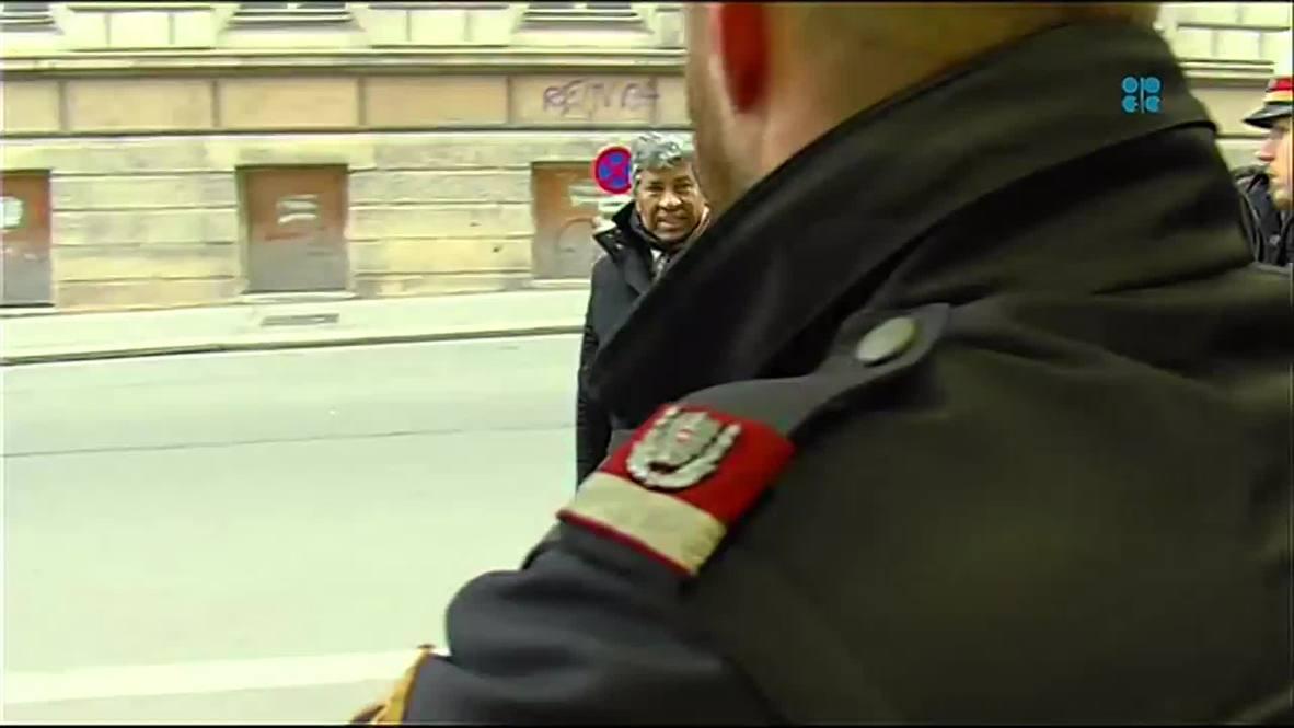 Austria: OPEC ministers arrive for Vienna crisis talks