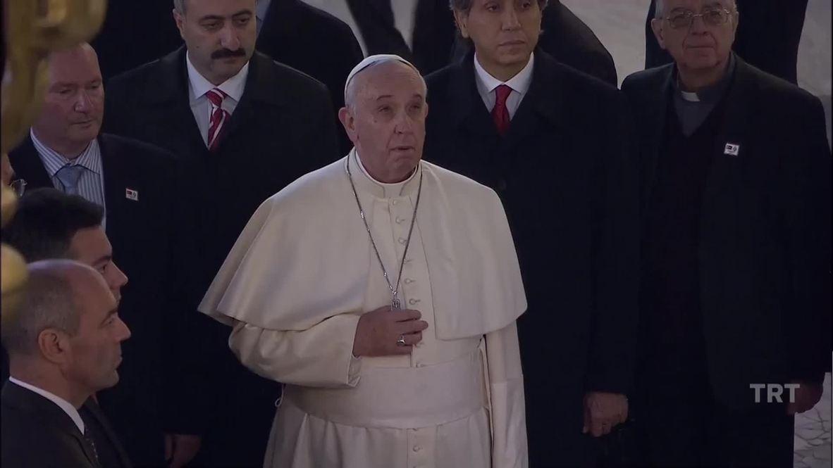 Turkey: See as Pope Francis visits Istanbul's Hagia Sophia