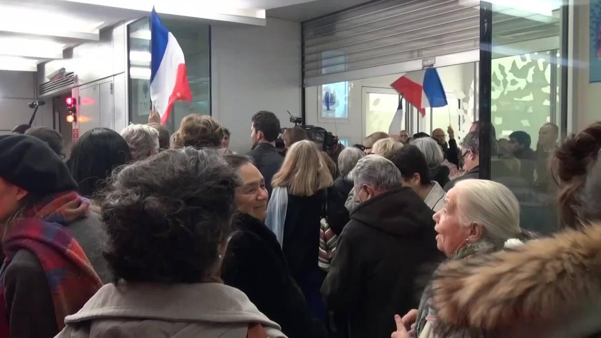 France: Sarkozy voted president of UMP