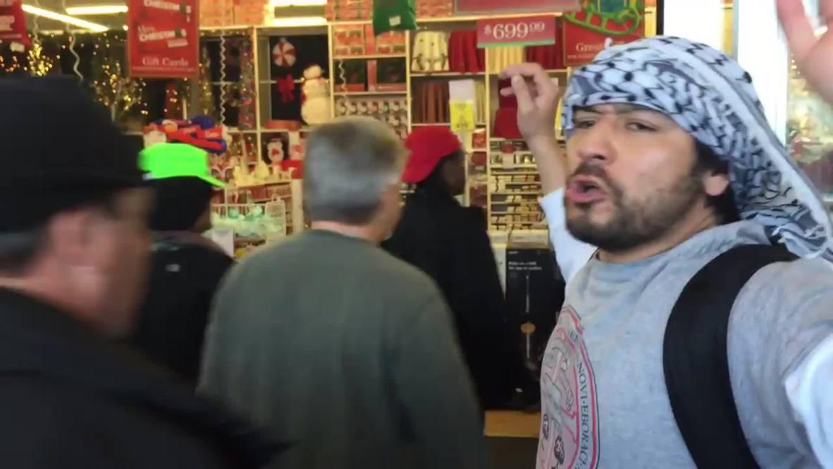 USA: See Ferguson demo disrupt major US retailers