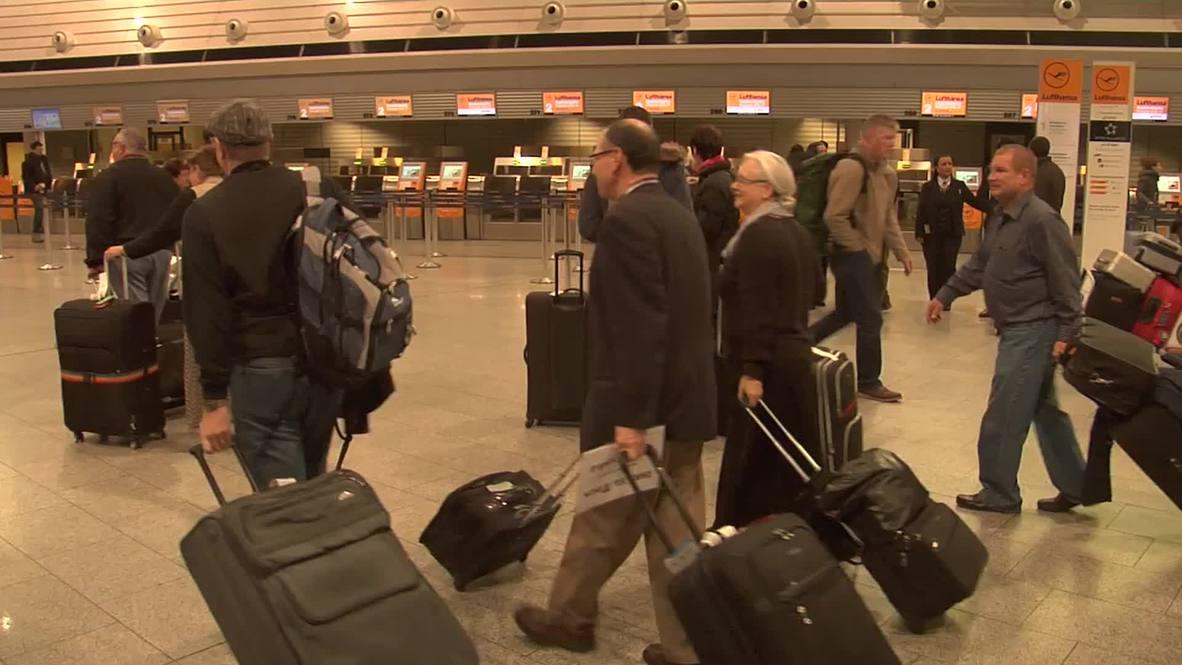 Germany: Strike leaves THOUSANDS stranded in Frankfurt Airport