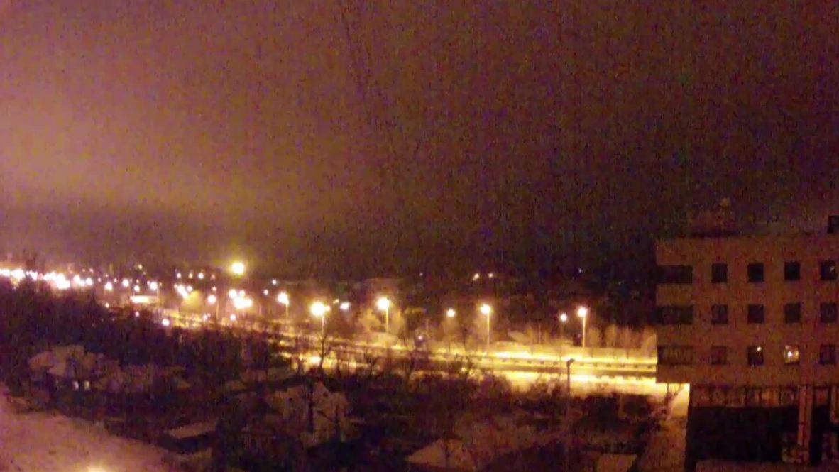 Ukraine: Massive shelling lights up Donetsk airport