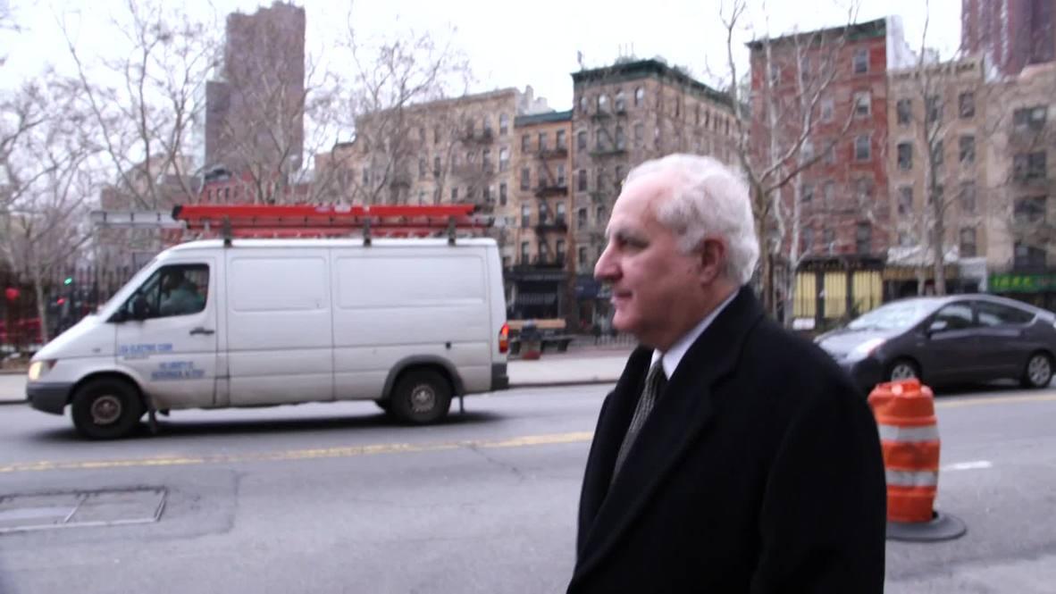 USA: Bernie Madoff aide arrives for sentencing