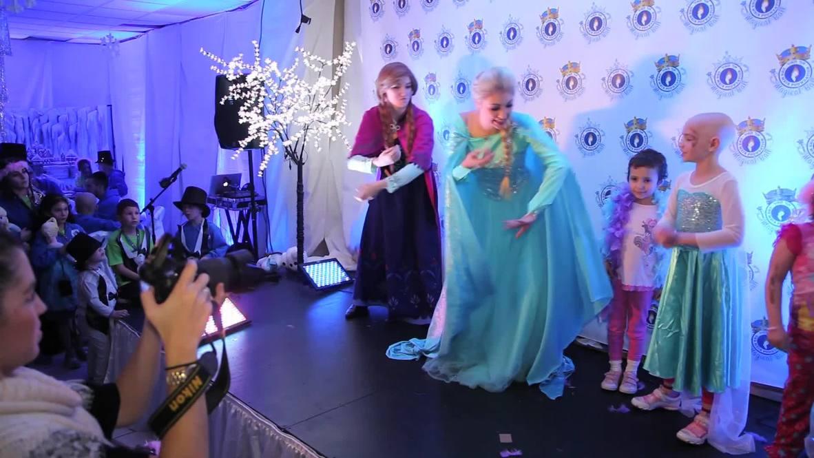 USA: Meet the real-life Queen Elsa from 'Frozen'