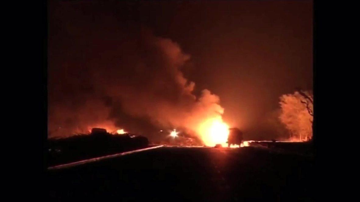 India: Ten dead in HORRIFIC gas tanker explosion [GRAPHIC]