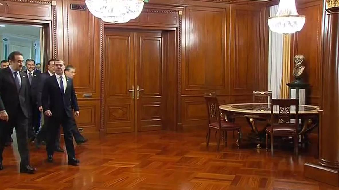 Kazakhstan: President Nazarbayev touts SCO states' self-sufficiency
