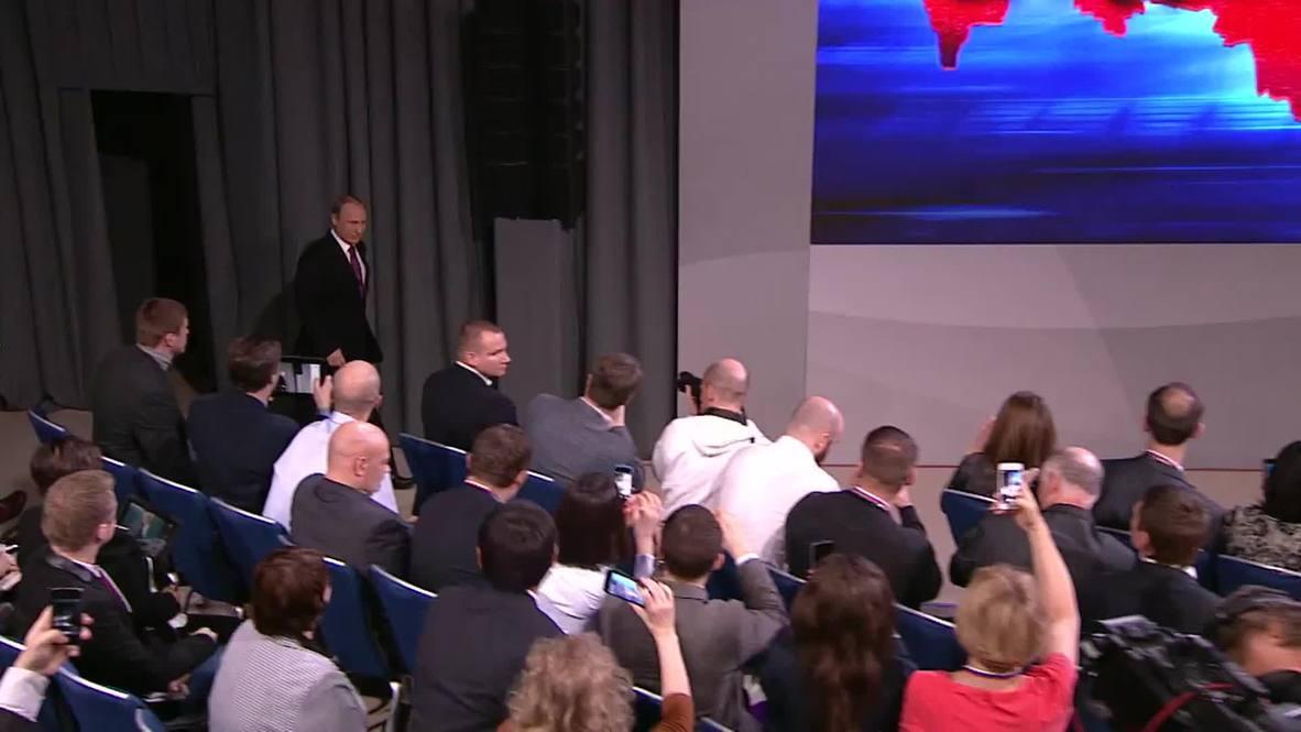 Russia: 'Despite market turbulence, federal budget is in the black' – Putin
